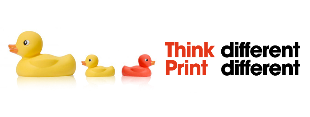 THINK/PRINT DIFFERENT